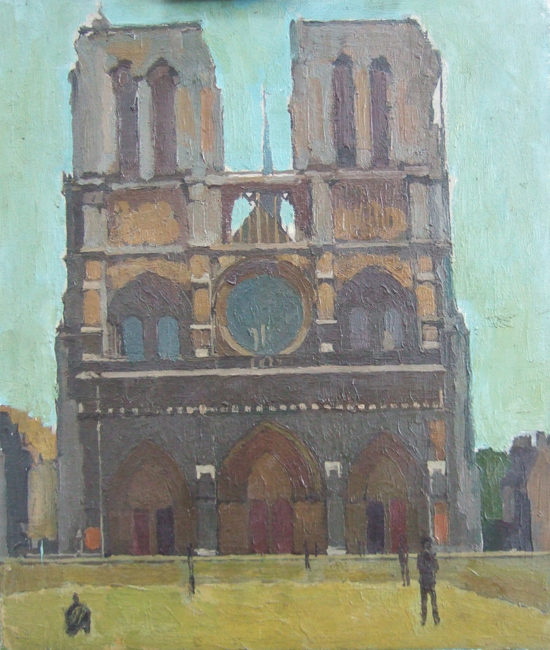 Francis Hewlett - Notre Dame Paintings (1st Floor Gallery)